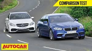 BMW Convertible bmw m5 vs mercedes e63 : BMW M5 VS Mercedes E63 AMG   Comparison Test   Autocar India - YouTube