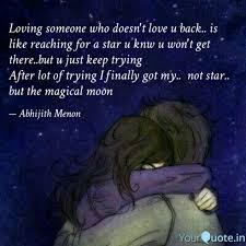 Quotes About Loving Someone Who Doesn T Love You Back