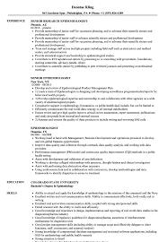 Epidemiologist Sample Resumes Epidemiologist Resume Samples Velvet Jobs 3