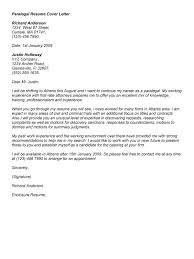 Paralegal Cover Letters Magnificent Example Of Paralegal Cover