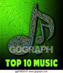 Thai Music Top Chart Clipart Music Charts Shows Hit Parade And Harmony Stock