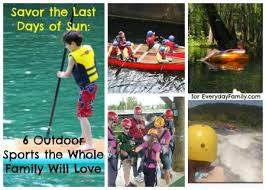 outdoor activities collage. Wonderful Outdoor Familyoutdooractivitiescollage On Outdoor Activities Collage