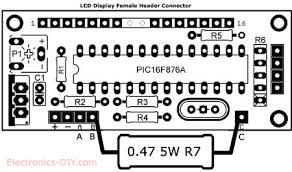 voltmeter wiring diagram for battery voltmeter automotive wiring pic volt ampere meter pcb layout description pic volt ampere meter pcb layout voltmeter wiring diagram for battery