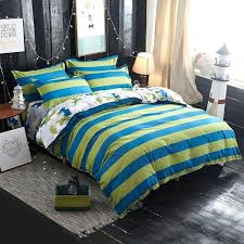 blue twin duvet cover yellow plaid bedding sets set full queen king size bed linen quilt