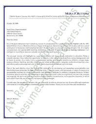 Education Cover Letters Education Cover Letters Cover Letter Example Elementary Teacher 82