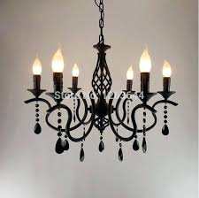 black wrought iron chandelier black wrought iron chandelier incredible style creative candle pertaining to 9 rustic