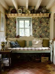 English Cottage Shabby Chick Landhausstil Tapeten Landhausstil