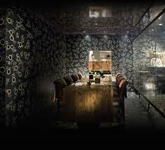 luxury lunch nyc. hibachi table private dining room interior design of nobu fifty seven restaurant, new york luxury lunch nyc 5