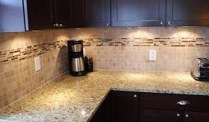 backsplash lighting. glass and stone tile backsplash color lighting