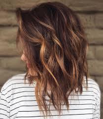 Hairstyles Balayage Brown Hair Medium Length Super Inspiration 60