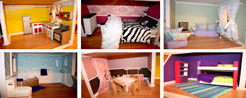 Picture of different rooms in a house