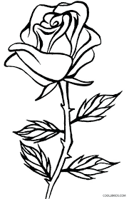 cool rose coloring pages p rose coloring page roses