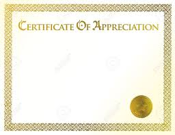 certificate of achievement illustration of template royalty vector certificate of achievement illustration of template