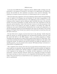 Example Of A Reflective Essay Reflection Paper Example Format Reflection Paper Format From