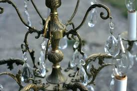 antique brass and crystal chandelier antique french chandeliers for antique brass and crystal chandelier antique