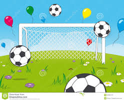 Image result for free party clipart with soccer balloons