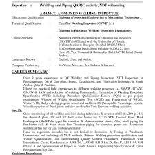 Welder Resume Welding Resume Fungramco Marine Machinery Mechanic Cover Letter 87