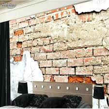 old brick wallpaper fresco high end personality broken old brick wall shock backdrop non brick wallpaper old brick wallpaper