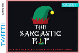 0 The Sarcastic Elf Christmas Elf Costume Designs Graphics
