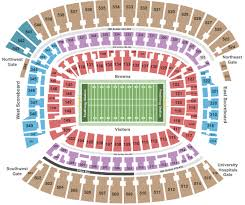 Firstenergy Stadium Cleveland Tickets With No Fees At