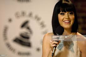 Katy Perry fields questions from students at the GRAMMY SoundCheck at...  News Photo - Getty Images