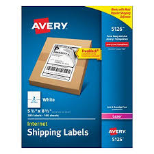 Free Mailing Label Enchanting AveryR Internet Shipping Labels With TrueBlockR Technology For