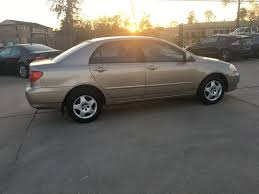 2004 Used Toyota Corolla 4dr Sedan LE Automatic at Car Guys ...