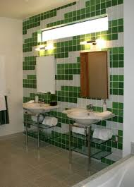 Glass Tile Bathrooms Step Up The Impact With Tile