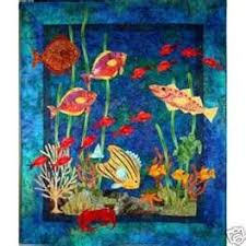 53 best sea quilts images on Pinterest   Boats, Carpets and Crafts & Under sea art quilt Adamdwight.com