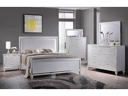 Miami Collection 6 Piece White Queen Bedroom Set MM100 | Orange ...