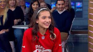 Sophie Schneider Chosen as the NFL's 2017 Kid Correspondent Video - ABC News