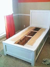 Lovely Twin Platform Bed With Storage Queen Frame Best Tall Captains ...
