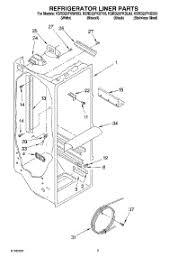 parts for kitchenaid ksrd25fkss03 refrigerator appliancepartspros com Light Switch Wiring Diagram at Search Ksre25fhbt00 Wiring Diagram