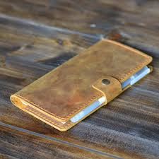 tags leather check cover