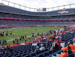 Broncos Stadium At Mile High Section 128 Seat Views Seatgeek