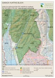 hunting maps know before you go hunting in the mackenzie country
