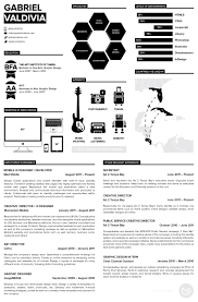 well designed resume examples for your inspiration 67 interests by gabriel valdivia 70 well designed resume examples