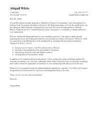 Cover Letter Sample College Student Cover Letter Example College