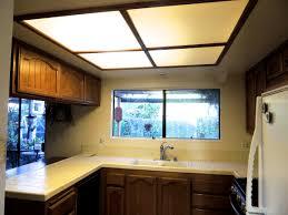 Update Kitchen Fluorescent Light Fluorescent Kitchen Light Fixtures Recessed Lighting Track