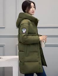 white winter coat women 2016 long down parka fashion students slim female clothing plus size