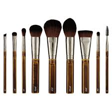 plete brush set cosmetic bag