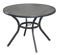round outdoor table. Round Aluminium Table, Outdoor Table O