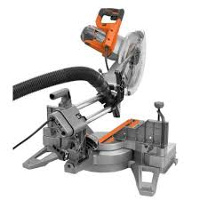 ridgid miter saw table. ridgid 12 inch dual bevel sliding miter saw review dust collection table