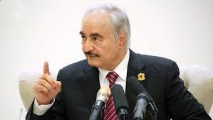 """المشير خليفة حفتر """" ليبيا ليست بحاجة لأي تدخل خارجي """""""
