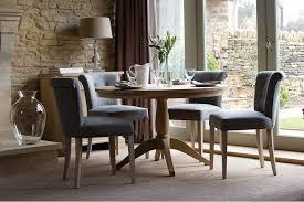 neptune henley round oak dining table neptune henley round dining table 3