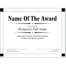Blank Award Tificates To Print Cute Free Printable Awards