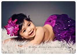 Pretty Princess In Purple Clermont Florida Baby Photographer
