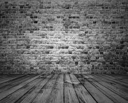 black brick wall backdrop vintage dark