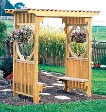 wood arbor designs arbor design ideas