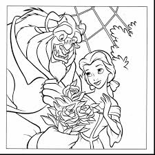 Small Picture Wonderful beauty and the beast coloring pages with disney color